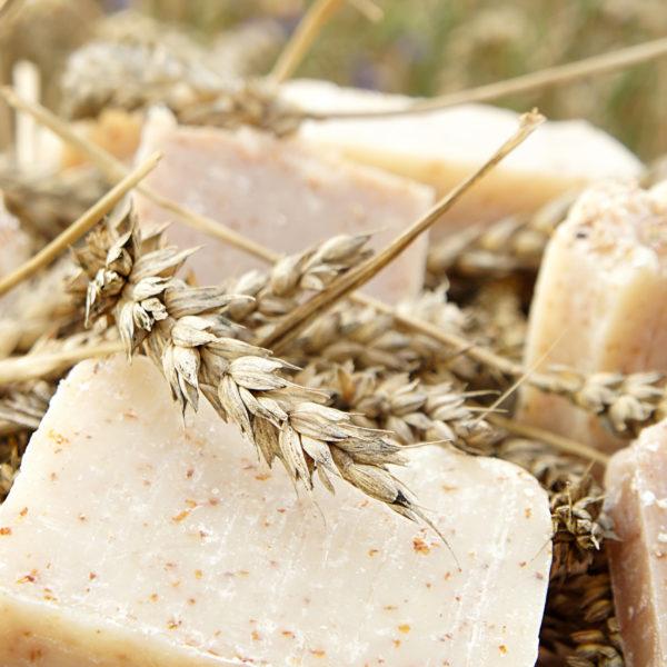 Otrębowe mydło naturalne