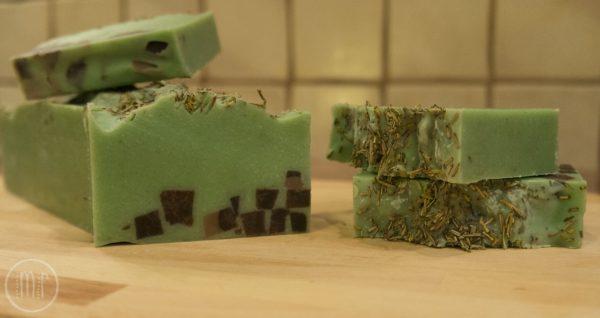 Rozmarynowe mydło naturalne