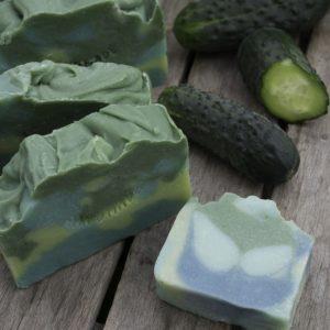 Naturalne mydła ogórkowe