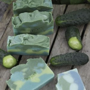 Naturalne mydło ogórkowe